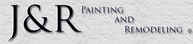J & R Painting and Remodeling Banner